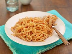 Pantry Pasta with Romesco Sauce Recipe : Food Network Kitchen : Food Network - FoodNetwork.com