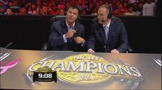 Scott Stanford and Matt Striker from Night of Champions.