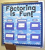 TOPIC:  Factoring Equations