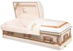 "#1 selling women's casket in the U.S. The ""Primrose"""