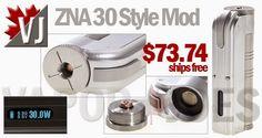 ZNA Styled 7-30 Watt 18500 Mod (18650 Tubes Coming Soon!)
