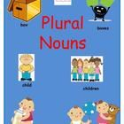 This resource contains a lesson plan that leads students to discovering the most commonly used rules to create plural nouns, as well as a double-si...