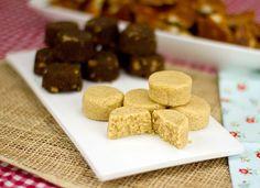 PB Protein Pucks / @DJ Foodie / DJFoodie.com / #lowcarb shared on https://facebook.com/lowcarbzen protein puck, low carb, lowcarb, almond butter, pb protein, snack, dj foodi, peanut butter, dessert