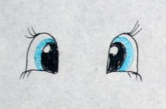 How to paint Fairy doll's eyes