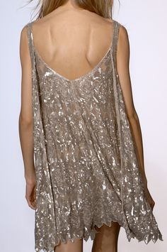 Sequined and Backless