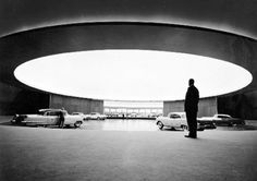 Eero Saarinen's General Motors Technical Center (1946-55).