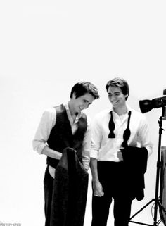 James and Oliver... <3