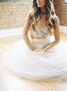 hair colors, fashion, beauti dress, tulle skirts, style, crop tops, cloth, bralette outfit, maxi skirts