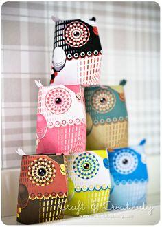 free printable owls to make