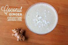 Recipe: Coconut Ginger Smoothie