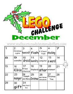 Lego monthly challenge idea build challeng, lego club, challenges, stem resourc, lego challeng, buildings, lego learn, legos, lego build