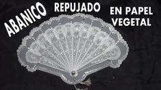 DIY ABANICO PARA EL DIA DE LA MADRE EN PAPEL VEGETAL