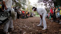 Hit that trap-draw-hook to escape trouble like Bubba did yesterday. #masters