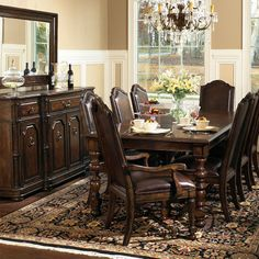For the formal dining room