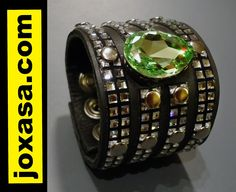 Shine this holiday season with a Swarovski cuff from www.joxasa.com