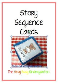 These story sequence cards are great for helping you lead discussion with your little students about the story elements of the story.  ...