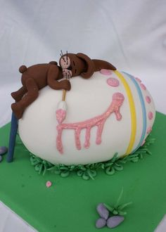 galleries, cakes, art, easter cake, bunni cake, bunni figurin, easter eggs, easter bunni, easter bunny