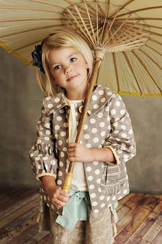 Persnickety Clothing - Taylor Jacket in Dottie Spring 2012