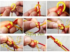 Basic Chinese Knot tutorial-Jingang Knot