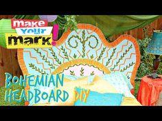 How to: Bohemian Headboard - YouTube from Mark Montano #ThursDIY