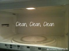 Green Cleaning Series : Microwave