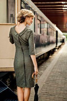 Tweed Ms. Porter Dress