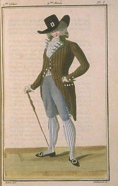 Magasin des Modes, November 1786.