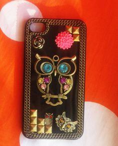 Owl New Hard Fitted Case For iphone 4