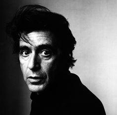 Al Pacino | by Irving Penn