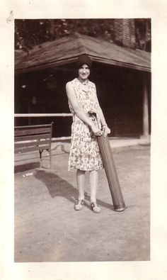 1920s golf bag