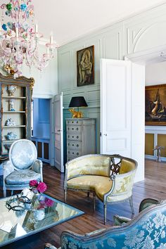 House tour: the fairytale château of Les Trois Garcons. Photography by Paul Raeside.