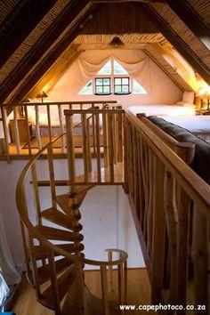 spiral staircase loft.