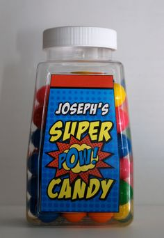 D3 Candy Bottle Favors (plastic) Version 2. , via Etsy.