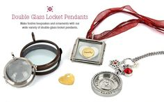 Glass Locket Pendants make great gifts especially for someone who is crafty. They will have lots of treasures around to put in it!