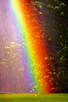 Rainbow at Old Key West , Florida, US -- by George Thomas The end of the rainbow