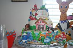 John Anthony's actual first birthday cake. Baby Einstein awesomeness!
