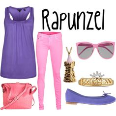 """Rapunzel"" by simply-disney on Polyvore"
