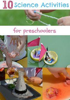 10 BRILLIANT experiments for preschoolers