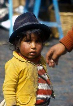 Native Ecuadorian child