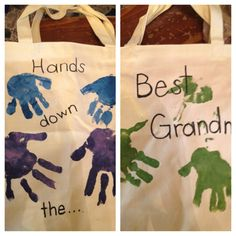 Tote for my grandma from my babies for Mothers Day :)