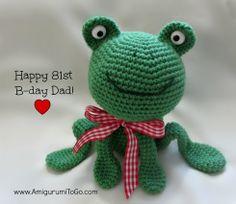 Amigurumi Birthday Frog