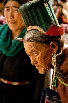 Elderly Woman from Ladakh