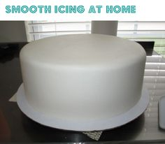smooth cake icing  - kitchen tips and tricks cake central