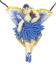 3D Beaded Blue Bell Fairy Pattern and Kit. (Click on photo to go to this on our site). $26.95