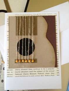 Guitar Card by Boobalay1983 - Cards and Paper Crafts at Splitcoaststampers