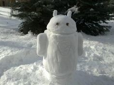 Android Snowman - Pupazzo di Neve