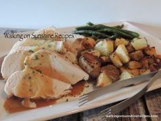Roast Turkey in the Crock Pot