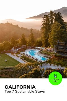 Opt for a sustainable stay at one of these seven hotels and resorts in California that have implemented eco-friendly measures, all bookable with Culture Trip. #CultureTrip #SomewhereWonderful #TravelGoodFeelGood #Travel #NorthAmericaDestinations #Staycations Photo: Ventana Big Sur / Expedia