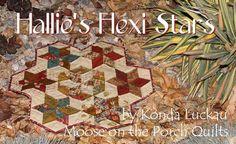Moda Bake Shop: Hallie's Hexi Stars