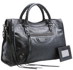 Balenciaga City Bag Black